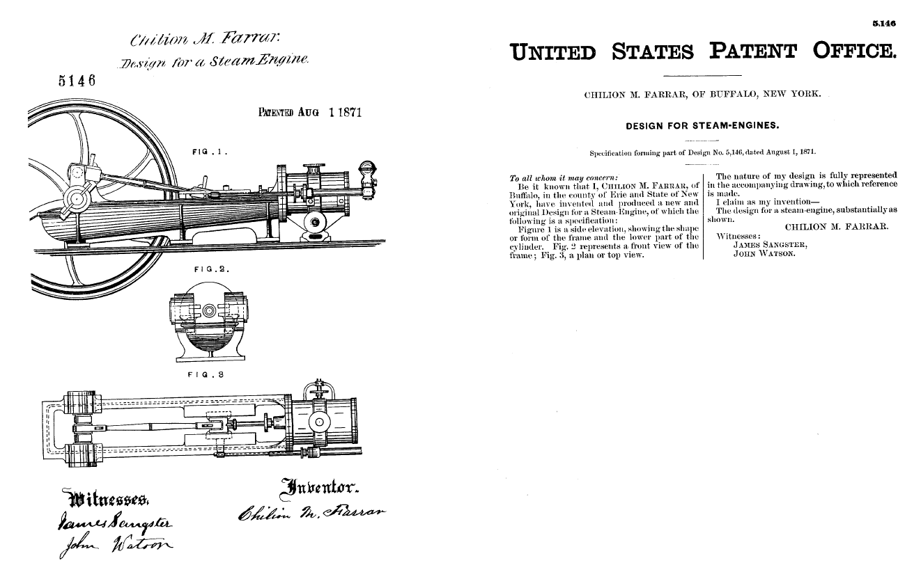 Mike Anderson Pico Canyon Engine Steam Piston Diagram The Shown Above Is Similar But Not Quite Same As My Farrar And Trefts Were Chilion M 1830 1907 John